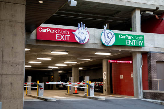 Secured Underground & Structured Garage Parking at CityWay, Indianapolis, IN