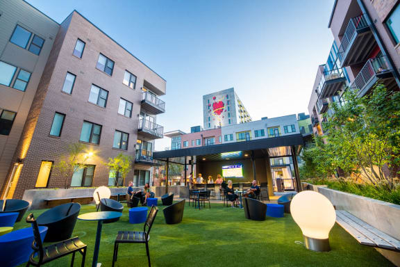 Public Green Spaces at CityWay, Indianapolis, IN