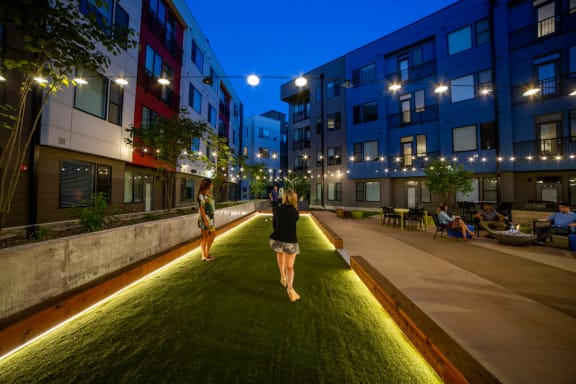 Green Space Walking Trails at CityWay, Indiana, 46204