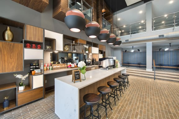 Complimentary Coffee, Lattes & Espressos by City Market Coffee served by your own On-Site Barista at Union Berkley, Missouri, 64120