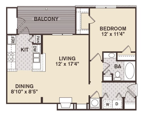 French Quarter Floor Plan at Providence at Old Meridian, Carmel, 46032
