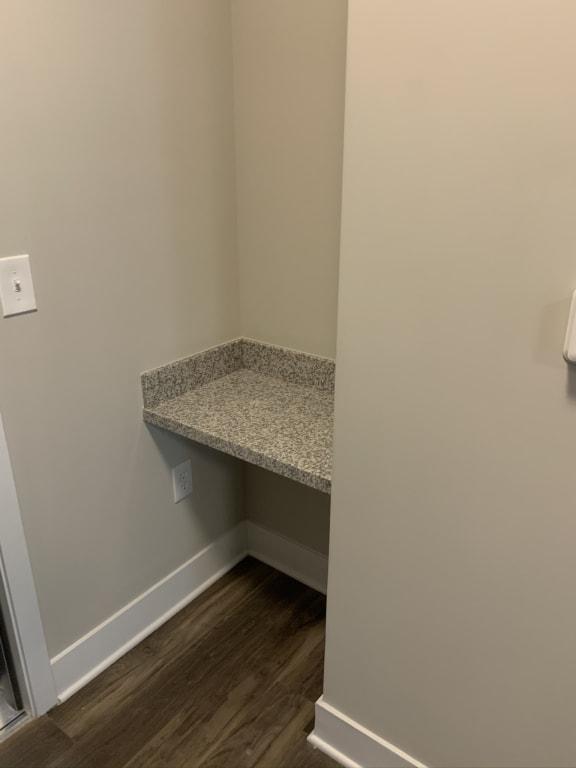 Grissom Floor Plan Built-In Desks
