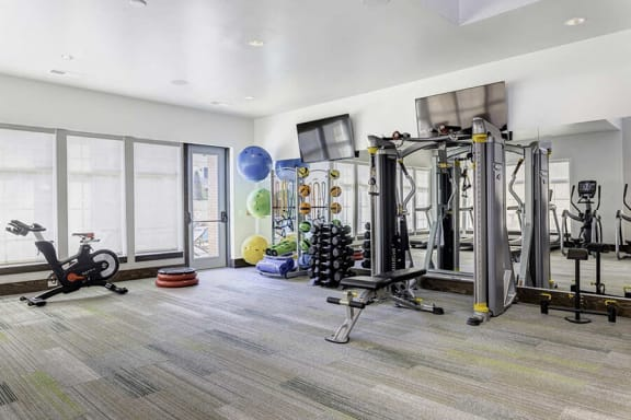 Fitness Center Access at Whetstone Flats, Nashville, TN