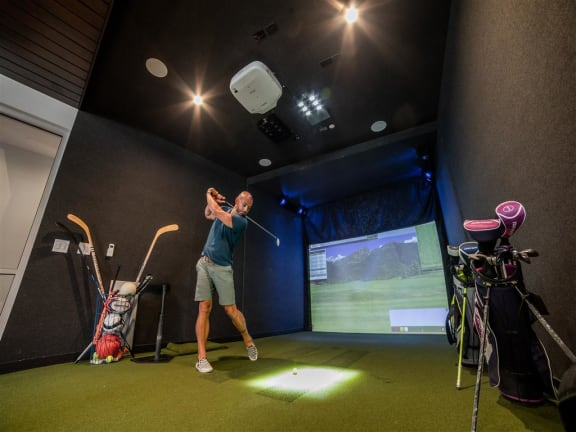 Golf and Multi-sport Simulator at CityWay, Indiana