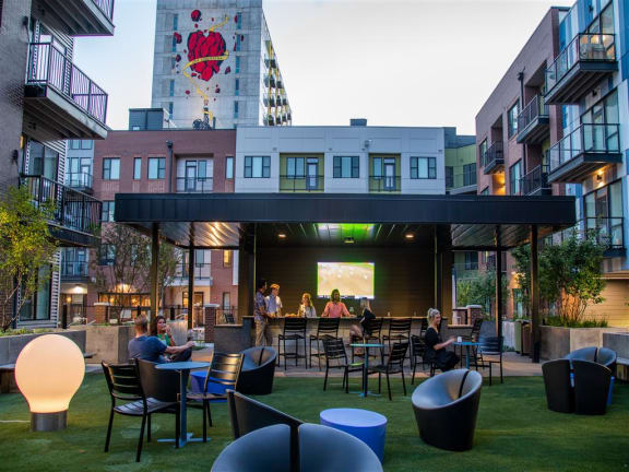 Public Green Spaces at CityWay, Indianapolis