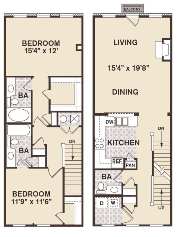 Lincoln Park Floor Plan at Providence at Old Meridian, Indiana, 46032