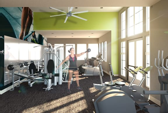 Fitness Center at Whetstone Flats, Tennessee, 37211