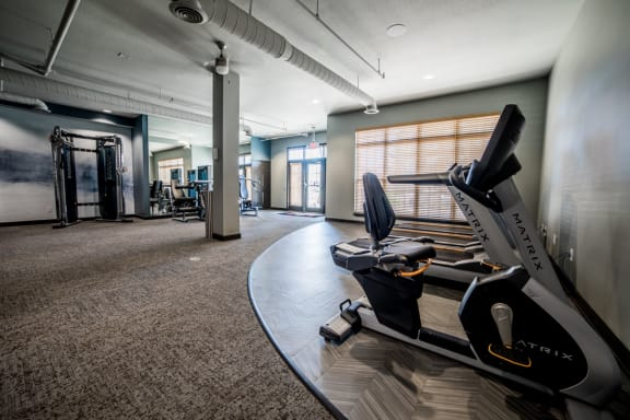 Cardio Equipment at Providence at Old Meridian, Carmel, Indiana