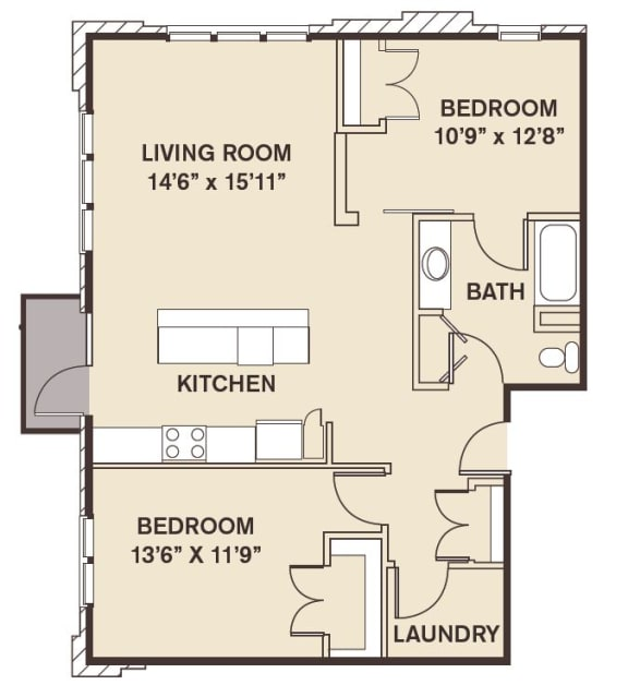 Statan Island Floor Plan at Providence at Old Meridian, Carmel, Indiana