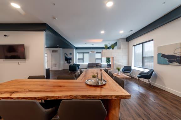 Clubhouse interior photo