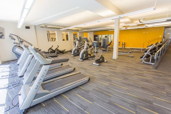 State-of- the-art, 1,400 Square Foot Fitness Center by Matrix at Union Berkley, Kansas City, MO
