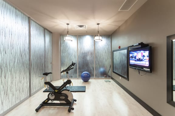 Spin / Yoga / On-Demand Fitness Room