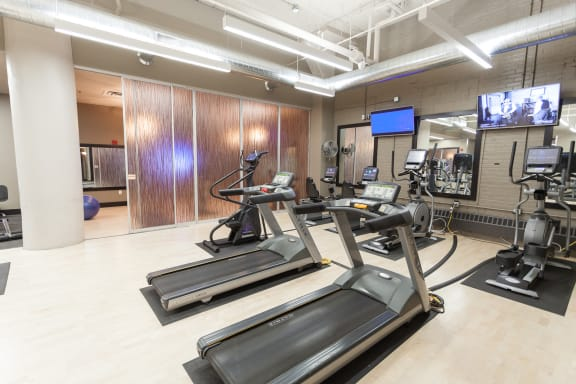 Fitness center- cardio machines