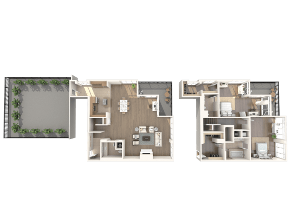San Francisco Penthouse Floorplan