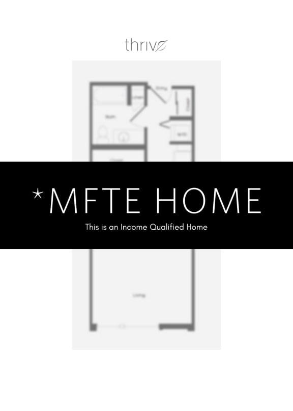 Floor Plan  Studio - MFTE 50