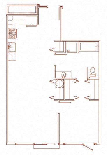 Floor Plan  B 1x1