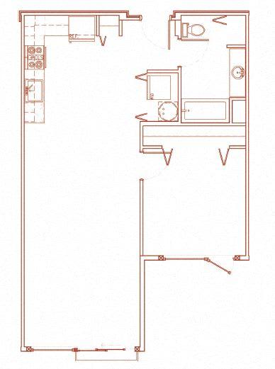 Floor Plan  C 1x1