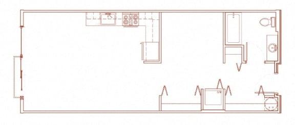 Floor Plan  F Open 1