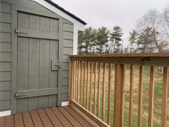 Outdoor Storage at Pickwick Farms Apartments, Indianapolis, 46260