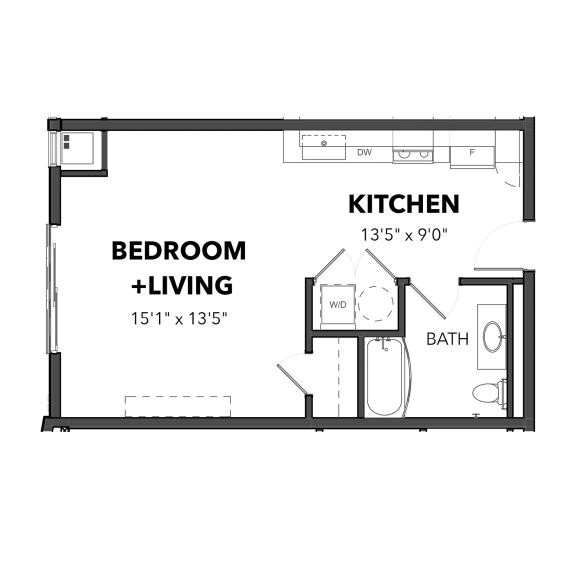 Bakery Living Micro 2, apartments in Pittsburgh, Pennsylvania