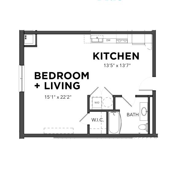 Bakery Living Micro 3, apartments in Pittsburgh, Pennsylvania