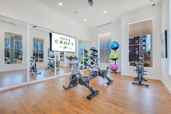 24-Hour Multi-Level Cardio And Weightlifting Center at Alta Croft, North Carolina, 28269