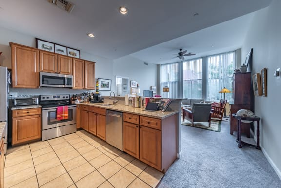 Fully Equipped Kitchens And Dining at Renaissance at the Power Building, Ohio, 45202