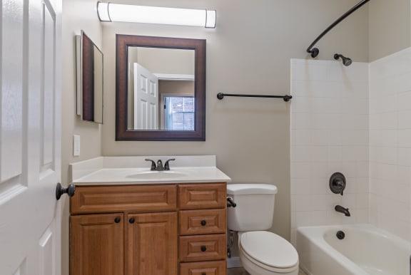 Bathroom With Bathtub at Renaissance at the Power Building, Ohio