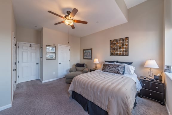 Large Comfortable Bedrooms at Renaissance at the Power Building, Ohio, 45202