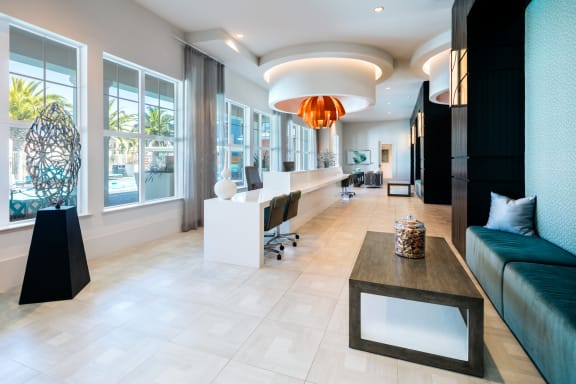 Leasing Office at Blu Harbor by Windsor, Redwood City, CA