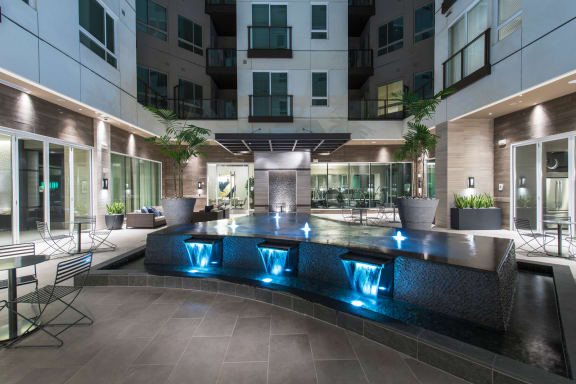 Urban Living at 1000 Grand by Windsor, Los Angeles, California