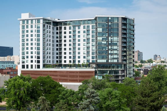 Professional, On-Site Management at 1000 Speer by Windsor, Denver, Colorado