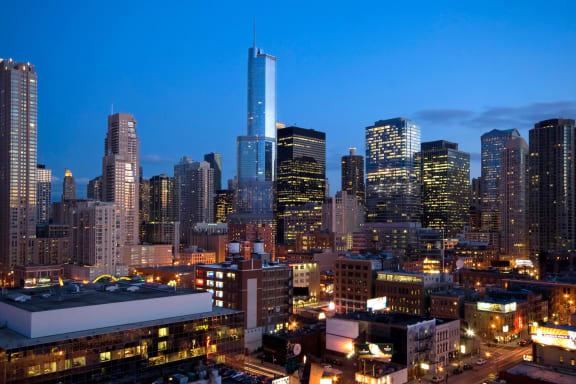 Centrally Located Community at Flair Tower, Chicago, 60654