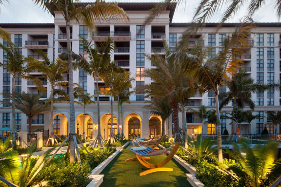 Beautiful Landscaping and Architecture at Windsor at Doral, Doral, 33178