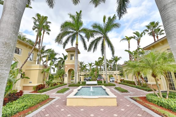 Professionally Landscaped Grounds at Windsor at Miramar, Florida, 33027