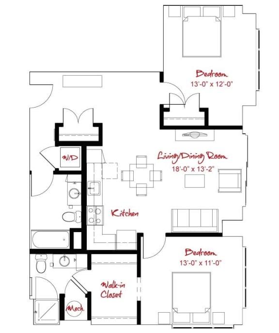 Floor Plan  B8