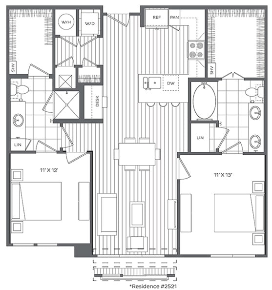 Floor Plan  2F Floor Plan at Platt Park by Windsor, Colorado