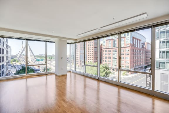 Floor-To-Ceiling Windows at The Victor by Windsor, 110 Beverly St, MA