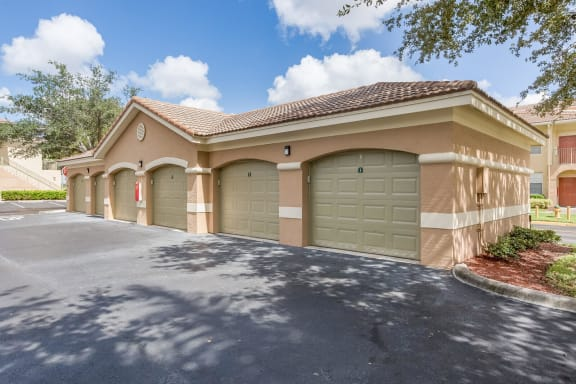 Private Garages Available at Windsor at Miramar, Miramar, Florida