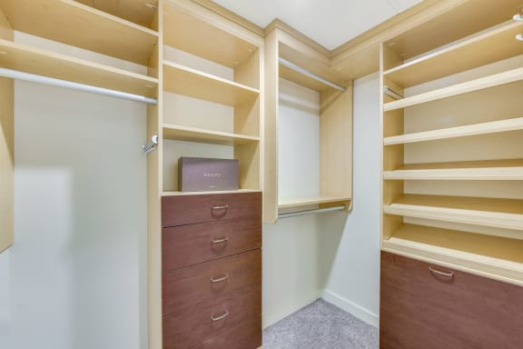 Walk-In Closets at The Martin, 2105 5th Ave, WA