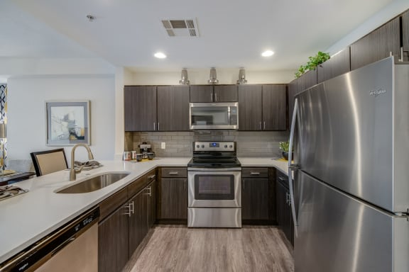 Chef-Inspired Kitchens at The Manhattan Tower and Lofts, Denver, CO