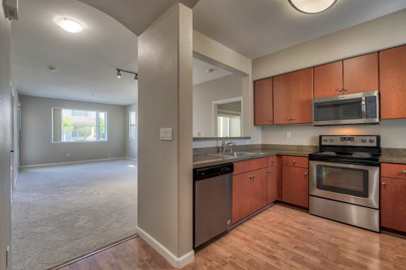 Fully-Equipped, Chef-Inspired Kitchen at The Kensington, Pleasanton, CA
