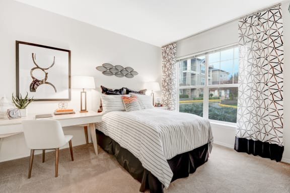 Spacious Bedrooms at Reflections by Windsor, WA, 98052