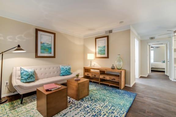 Vinyl Plank Flooring Available at Allen House Apartments, Texas, 77019