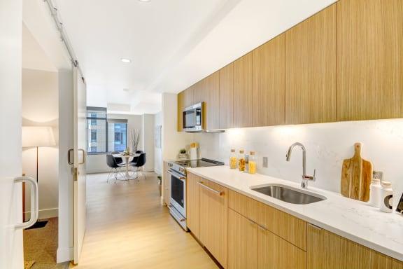 Five Sleek Interior Finishes Available at Stratus, 820 Lenora St., WA
