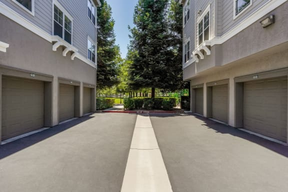 Private Garages with Select Apartments at The Estates at Park Place, Fremont, California