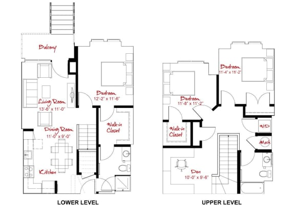 Floor Plan  C2 Townhome