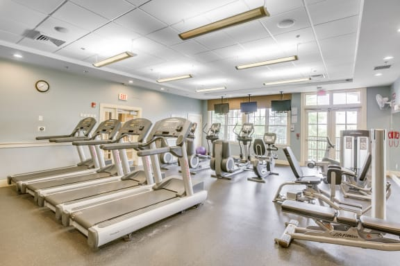 24-Hour Fitness Center at Windsor Village at Waltham, Massachusetts, 02452