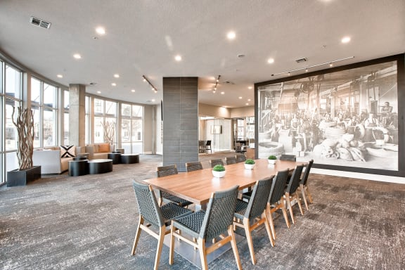 Enormous Resident Clubroom with Free Wi-Fi at Windsor at Broadway Station, Colorado, 80210