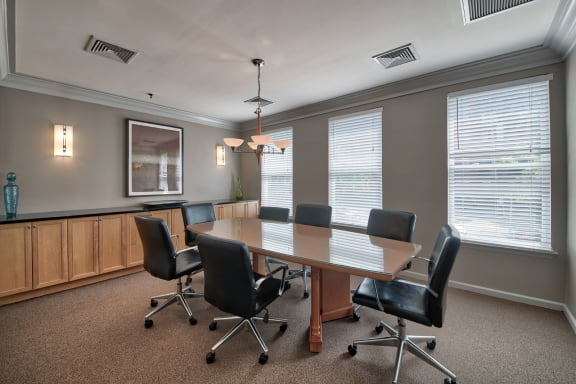 Resident Conference Room at Windsor at Liberty House, Jersey City, 07302